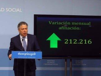 El Ministerio de Empleo ha dado a conocer los datos de afiliación a la Seguridad Social de abril