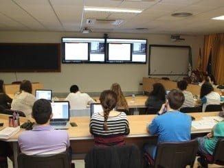 En el curso de Cepsa participan alumnos de las universidades de Huelva, Sevilla y Cádiz