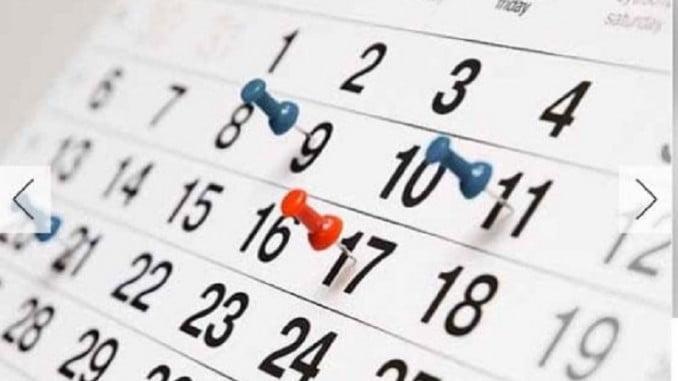 Serán 12 fiestas laborales más las dos que cada localidad propondrá