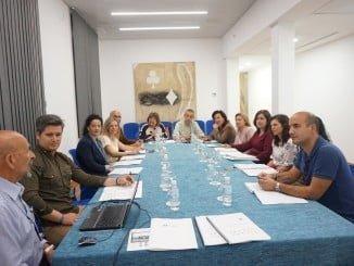 Laura Martín, ha detallado hoy el Plan de Control de Mosquitos a los alcaldes y concejales de los ayuntamientos integrantes del Plan
