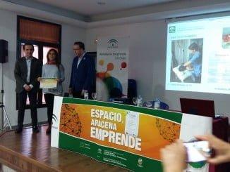 El delegado de Empleo ha entregado los diplomas de reconocimiento a los emprendedores de Aracena