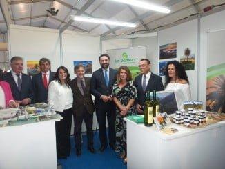 Los consejeros de Medio Ambiente y Turismo en la inauguración de la Feria Doñana Natural Life