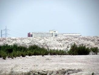 Mesa de la Ría asegura que el proyecto de Fertiberia de las balsas de fosfoyesos incumple la Ley de Costas