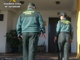 Agentes de la Guardia Civil han detenido al presunto autor del robo