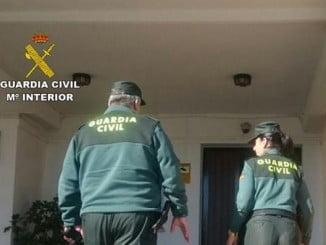 El rápido dispositivo de la Guardia Civil consiguió la detención de los tres supuestos implicados en el robo