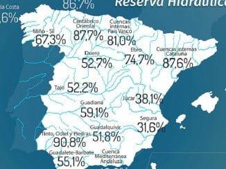 Huelva vuelve a ser la provincia con los pantanos más llenos