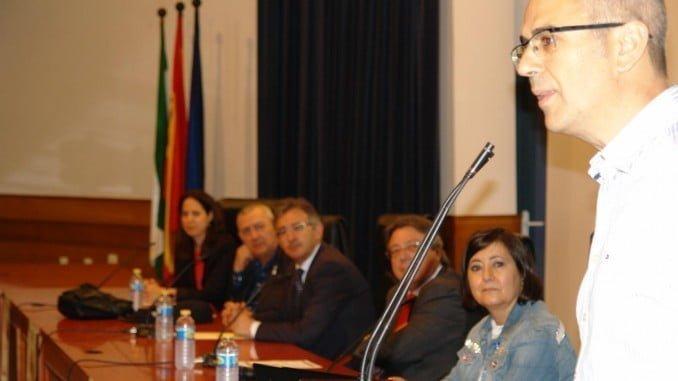 Momento de la inaguración del Congreso en el Campus del Carmen