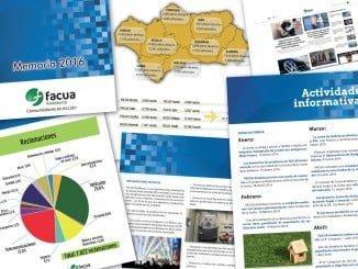 FACUA Andalucía tuvo unos ingresos totales de 1.137.840 euros y unos gastos de 1.116.502 euros