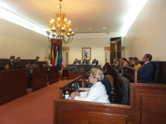 Pleno de la Diputación de Huelva