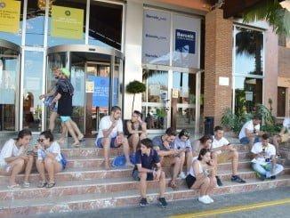 La celebración del Festival Village en Punta Umbría ayudó a disparar la estadística