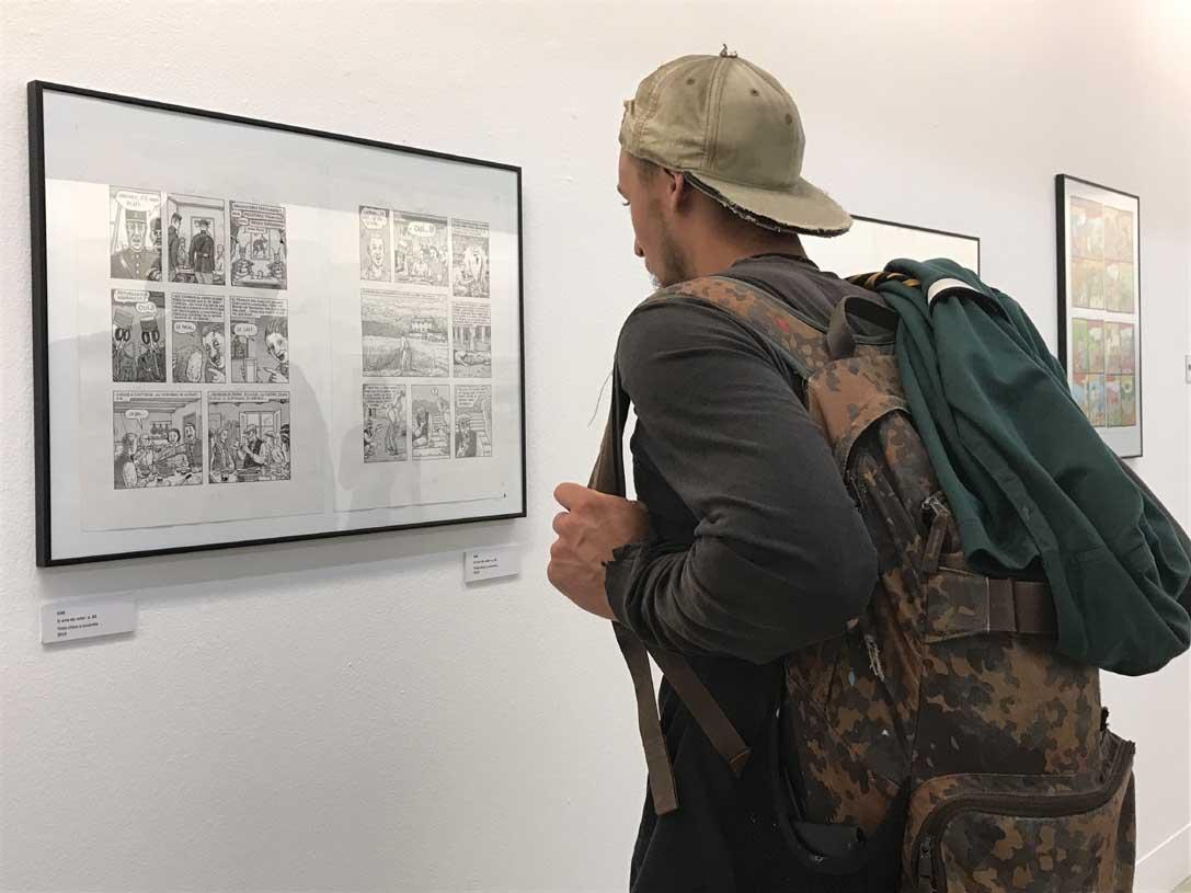 Las exposiciones también están presentes en esta cita con el mundo del cómic