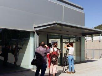 El servicio de DNI  móvil se presta en el pabellón ferial de Aracena