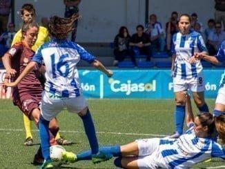 Las chicas de Antonio Toledo tuvieron que emplearse a fondo para empatar el partido