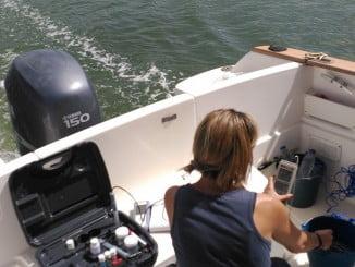 Se han realizado diversos muestreos en el río Odiel para comprobar el estado de las aguas
