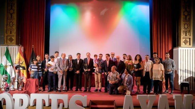 Ayamonte acogió la gala del deporte de la Asociación de Periodistas Deportivos de Huelva.