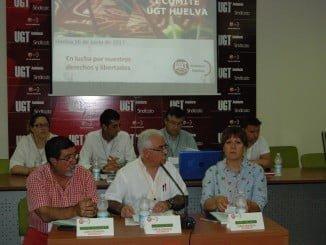 Reunión del Comité Provincial de UGT Huelva.