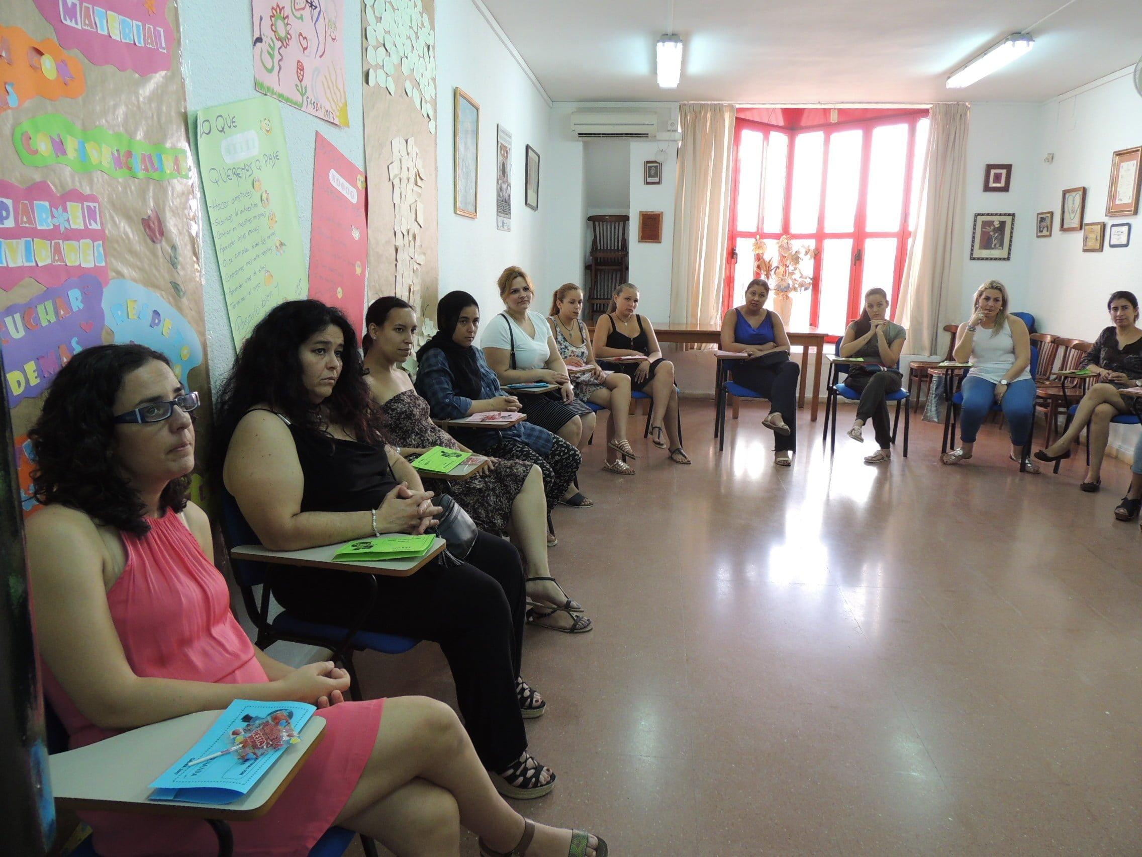 Alumnas que han participado en el Proyecto Gasba del Ayuntamiento de Huelva.