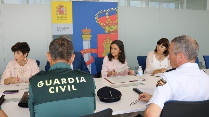 Reunión de la Comisión del Plan Director de Seguridad Escolar.