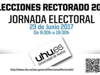 Jornada electoral hoy importante en la Universidad de Huelva.