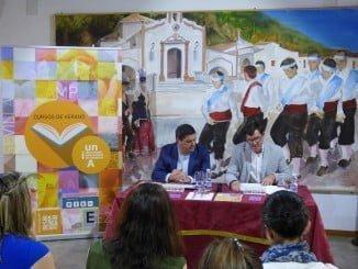 Presentados los cursos de verano de la UNIA en Puebla de Guzmán.