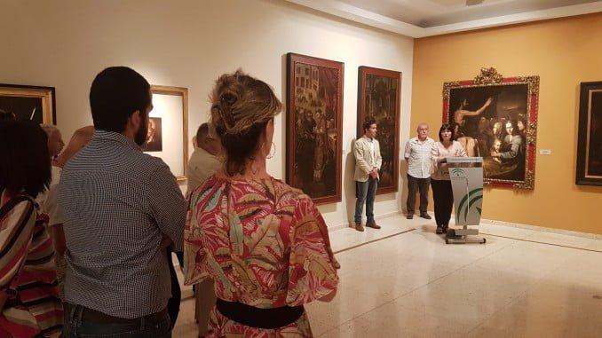 Inaugurada la exposición en el Museo Provincial de Huelva.