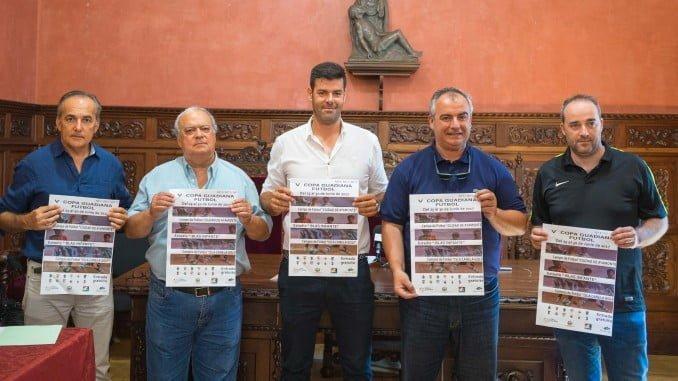 Presentada en Ayamonte la V Copa Guadiana (7 de 7) de fúbol en los meses de verano.