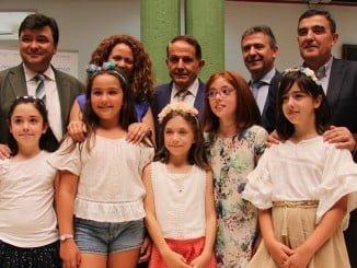 Endesa entrega el 1º premio del concurso nacional playenergy al colegio onubense García Lorca.