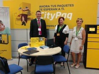 CorreosPaq, promocionándose en las IV Jornadas de Cooperación Empresarial del PITA en Almería