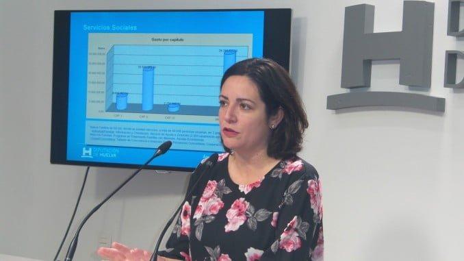 La diputada de Bienestar Social Aurora Vélez