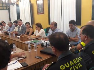 El Delegado de la Junta ha presidido una reunión de balance de la romería del Rocío