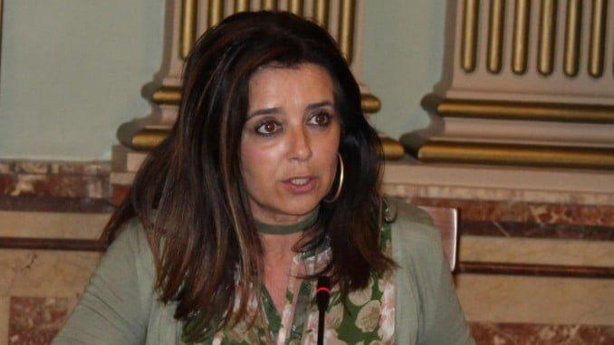Carmen Sacristán, concejala del Grupo Popular en el Ayuntamiento de Huelva
