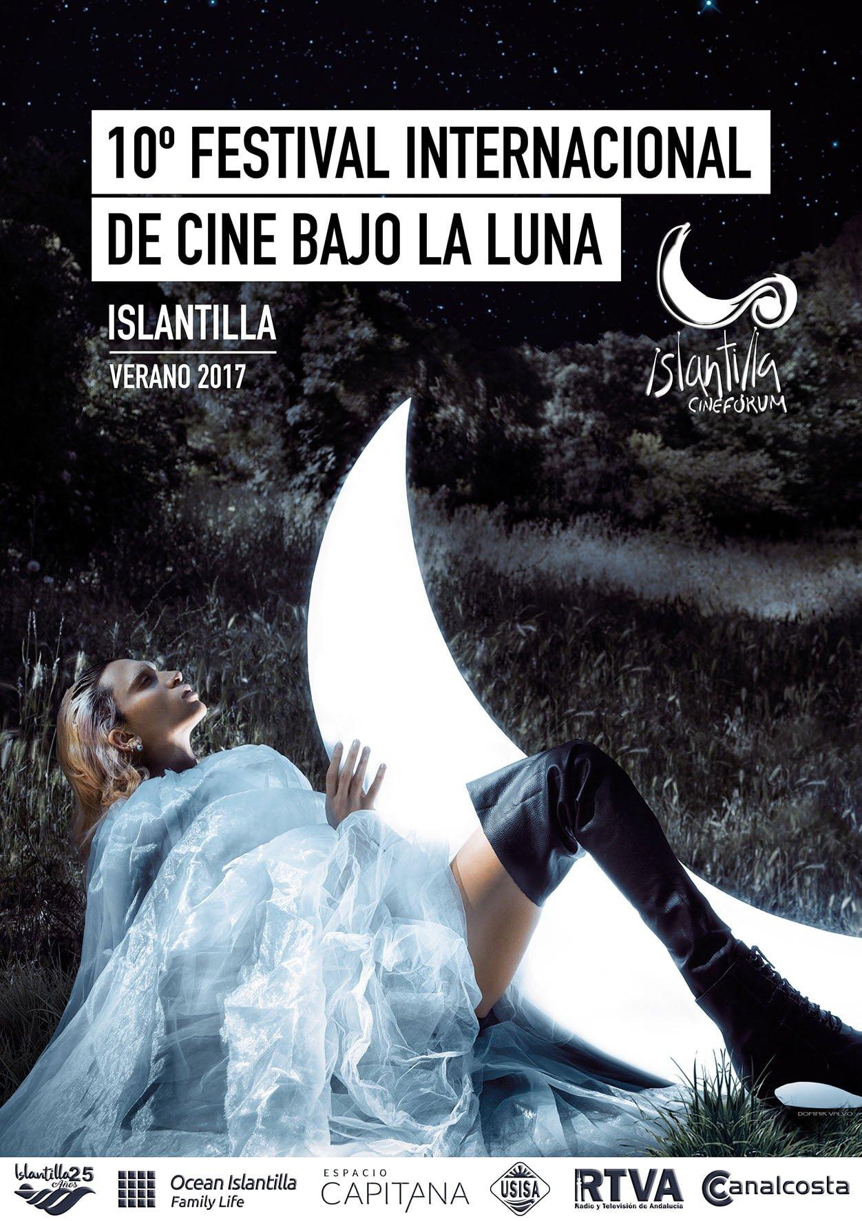 Cartel del X Festival de Islantilla, obra del diseñador gráfico Dominik Valvo
