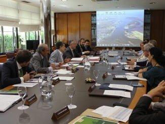 Reunión del Consejo de Administración de la Autoridad Portuaria de Huelva