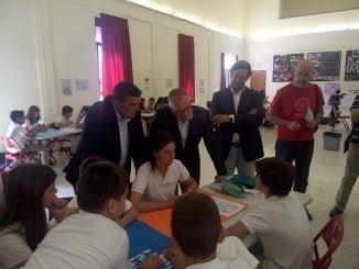 Acto entre alumnos de 1º de la ESO para dar a conocer el proceso de donación y trasplante entre los adolescentes