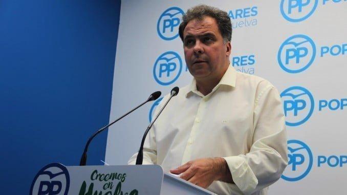 Juan Carlos Duarte, portavoz de la Dirección Provincial del PP