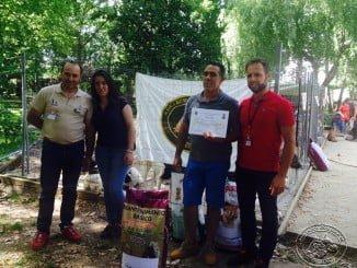 La Asociación Española de Rehalas se ha dado cita en esta feria de Montehermoso (Cáceres)