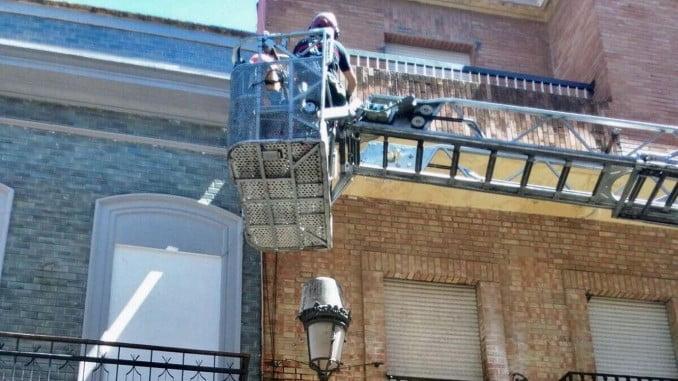 El Ayuntamiento ha procedido al saneamiento de la parte afectada del edificio