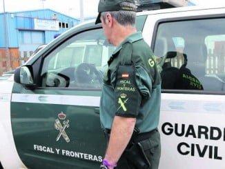La mujer ha sido detenida por la Guardia Civil de Punta Umbría