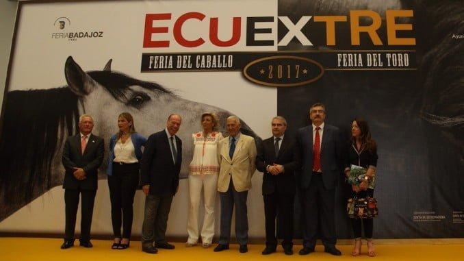Inauguración de ECUEXTRE 2017 en Badajoz