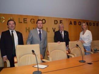 Ana Tárrago, Juan José Domínguez, Antonio Pontón y Luis Fernández Arévalo