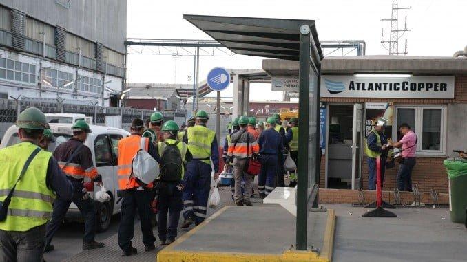 22 días ha durado la parada técnica de este año para poner a punto las instalaciones de Atlantic Copper