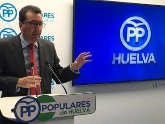 El presidente del Partido Popular de Huelva responsabiliza a la Junta de la suspensión de la Saca de las Yeguas