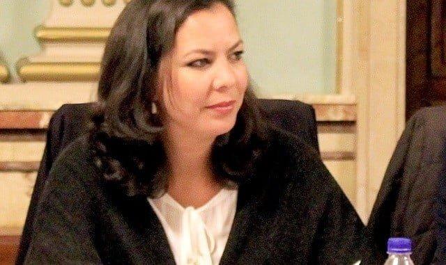 María Martín, portavoz de Ciudadanos en el Ayuntamiento de Huelva
