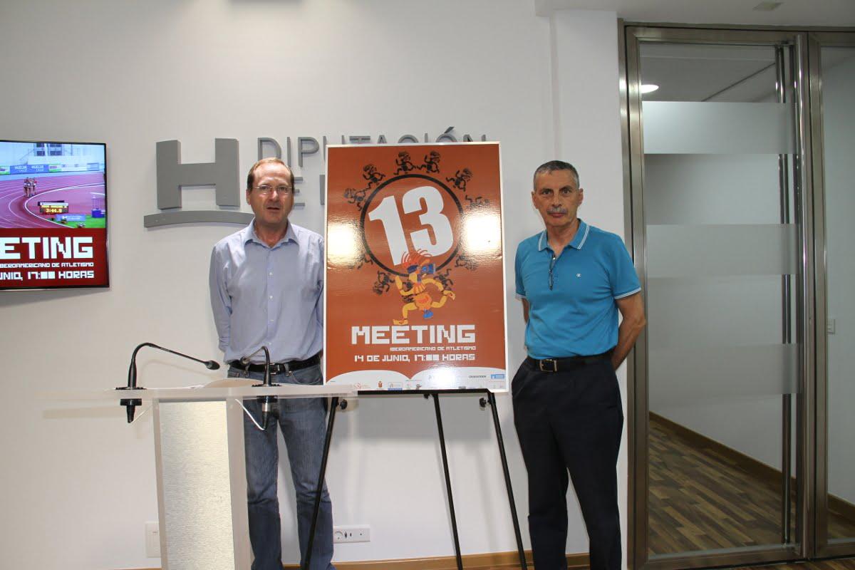 El diputado de Deportes y el vicepresidente de la Real Federación Española de Atletismo