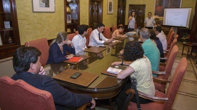 Reunión en el Ayuntamiento para sacar adelante el III Plan Local de Salud