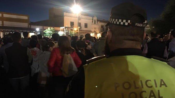 La rápida intervención de la Policía Local fue fundamental para evitar daños mayores