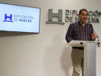 El portavoz del equipo de gobierno en la Diputación de Huelva, José Luis Ramos