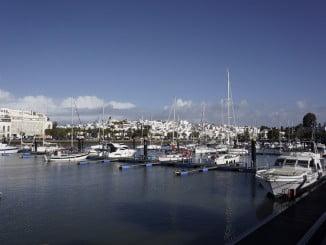 El Puerto Deportivo de Ayamonte es uno de los premiados con la Bandera Azul
