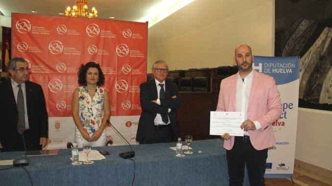 Entrega del XI Premio Andaluz de Investigación sobre la Integración Europea en Diputación