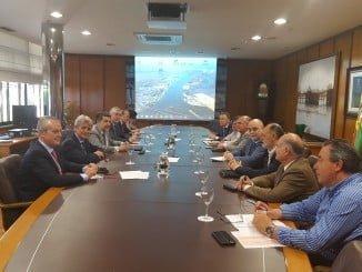 Reunión AIQBE y Puerto de Huelva